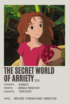the secret world of arriety by kellie