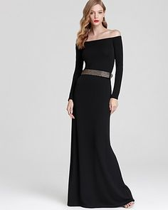 Halston Heritage Off The Shoulder Dress - Belted - Dresses - Apparel - Women's - Bloomingdale's#fn=LENGTH_M%3DLong%26spp%3D62%26ppp%3D96%26sp%3D2%26rid%3D61#fn=LENGTH_M%3DLong%26spp%3D62%26ppp%3D96%26sp%3D2%26rid%3D61