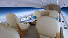 El Centro de Procesos para la Innovación (CPI diseña un avión sin ventanas pero que a su vez permite poder contemplar el exterior mientras se viaja.