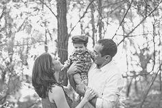 creative black & white family photos