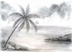 for trippy drawings fantasy fantasy landscape pencil drawings tree - trippy tree drawing Easy Nature Drawings, Easy Scenery Drawing, Easy Pencil Drawings, Beautiful Pencil Drawings, Beautiful Sketches, Amazing Drawings, Cool Drawings, Trippy Drawings, Pencil Art