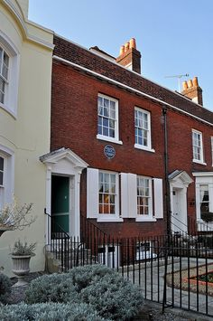 6/2/12 - It was here, just behind those two upstairs windows that Elizabeth Culliford Dickens gave birth to a Charles John Huffam Dickens on 7th February 1812. He went on to become one of the greatest writers of all time.