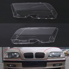 17 best bmw 5 series images on pinterest bmw 5 series bmw parts pair driver headlight headlamp lense clear lens cover for bmw e46 3 series 98 01 fandeluxe Choice Image