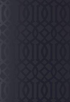 Lynn Chalk - Kelly Wearstler Imperial Trellis Onyx Gloss Wallpaper, $154.49 (http://store.lynnchalk.com/kelly-wearstler-imperial-trellis-onyx-gloss-wallcovering/)