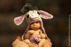 Куклы-младенцы и reborn ручной работы. Ярмарка Мастеров - ручная работа Осля. Handmade.