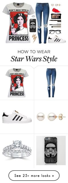 """""""~The best people are always taken to soon~"""" by clairebear89 on Polyvore featuring WithChic, adidas, Ilia, Urban Decay, Smith & Cult, Smashbox and Bliss Diamond"""