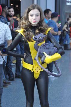 Kitty Pryde Shadowcat Cosplay by Megan / @nokindoflife on Twitter / KittenAndDragon on deviantART #cosplay