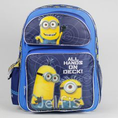 7d175f7a8b70 Despicable Me Minions Large Backpack - On Deck 16  Boys School Book Bag