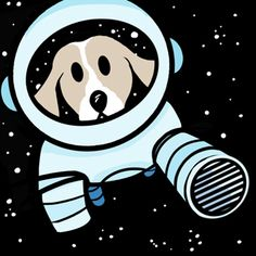 A comic strip that will make you smile. Cosmo the Space Dog, by comic illustrator and graphic designer Ghen Martin, is a cartoon about dogs, space and life.
