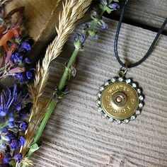 WESTERN SuperX 12 Gauge Shotgun Shell Pendant  by RusticSpoonful, $18.00 #bling #blingjewelry #jewelry #pendant #necklace #shotgunshell #12gauge