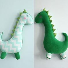 Dinosaure - Karmelki-by-Ania - DaWanda.com