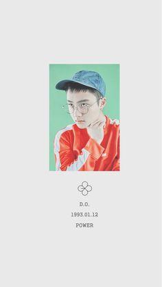 d.o, exo, and kyungsoo image Kpop, Exo Lucky One, L Wallpaper, Chanyeol Baekhyun, Exo Group, Exo Album, Exo Lockscreen, Kim Jongdae, Exo Do