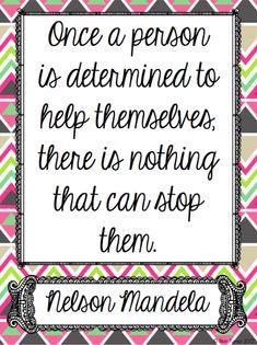 Nelson Mandela Quote Posters - free printable posters in the post. https://twitter.com/NeilVenketramen