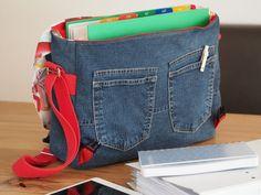 Jeanstasche DIN A4