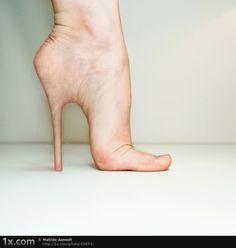 Hell on heels. © Matilde Aamodt
