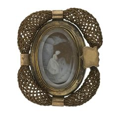 crystals, heart, brooch, jewelri, hair, georgian mourn, cameo, antiqu, mourn pin