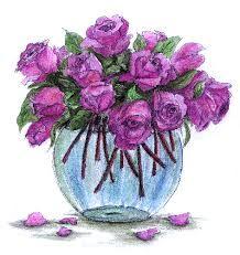 Znalezione obrazy dla zapytania kwiaty rysunki