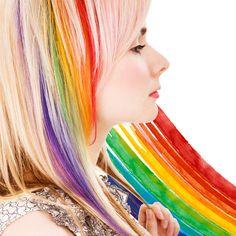 temporary hair dye!
