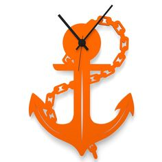 Wall Clock ANCHOR by Wandkings