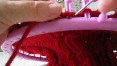 faire torsade au tricotin géant,