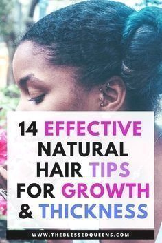 14 Effective Natural hair Growth and Thickening Tips - Natural hair growth tips and remedies for black hair. Lets me introduce you to a journey of thicker and longer hair with this tips. We Black women mostly love long natural hair and we want our ha Natural Hair Growth Tips, Hair Remedies For Growth, How To Grow Natural Hair, Grow Long Hair, Long Natural Hair, How To Make Hair, Natural Hair Styles, Long Hair Styles, Natural Beauty