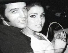Elvis & Priscilla - elvis-and-priscilla-presley Photo
