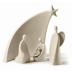 Pottery is elegant, diverse and quite the attractive addition to any part of your home. The kitchen is no exception as it can also benefit from the addition of pottery in a variety of ways. Christmas Clay, Christmas Nativity Scene, Handmade Christmas, Christmas Crafts, Clay Projects, Clay Crafts, Modern Nativity Set, Ceramic Nativity Set, Nativity Sets