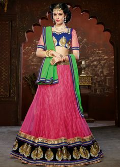 We are specialized in exporting a good quality range of Designer Lehenga. These clothes are fabricated at our premises using high grade textile, acquired from renowned resource of the industry. Our offered clothes are available in miscellaneous sizes as per our clients' specifications and at low prices. To preserve quality, we also check these clothes on varied quality parameters