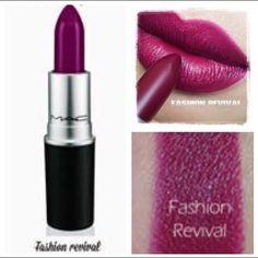 MAC Cosmetics Makeup - MAC Lipstick - Fashion Revival!