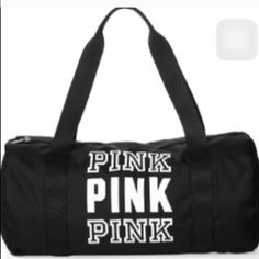 Vs pink bag NWT Not sure if I want to sell yet :) so cute brand new PINK Victoria's Secret Accessories