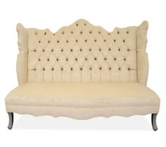 Haute House furniture Isabella banquette| Highback banquette/settee seating