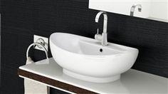 REA umywalka ceramiczna blatowa Cindy 590x400x220mm