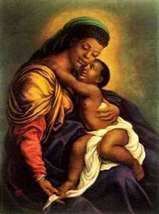 """Isis was a Black African goddess of Nile Valley civilizations whose worship eventually diffused to most of the ancient world.  Isis was worshipped by the Nubians well over 300 years before the first Egyptian dynasty.  The Egyptians then gave the Isis religion to Greece, Rome, and Western Asia.The first """"Black Madonna and Child"""" statutes and portraits were of Isis and Horus, and these were taken throughout the world by the Roman Empire."""