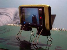 N8 Tip: Home-made DIY Tripod! (Actually a Quadpod) : My Nokia Blog