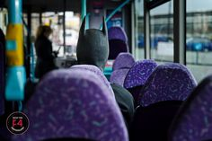 Just a stranger on the bus, Trying to make his way home. Batman cosplay on a local bus at the Bristol Comic Expo Batman Cosplay, Batman And Catwoman, Bristol, Comics, Photography, Photograph, Comic Book, Photo Shoot, Comic Books