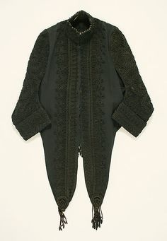 Jacket Date: ca. 1890 Culture: American or European Medium: silk Accession Number: C.I.41.170.8