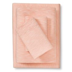 Jersey Sheet Set (King) Coral (Pink) - Room Essentials