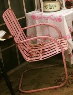 Tulip Chair, Lawn Furniture, Outdoor Furniture, Vintage Metal, Motel,  Attic, Benches, Stools, Outdoor Garden Furniture