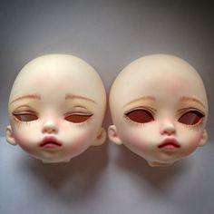 WIP Face up on Trisha DIM Doll by Washikidolls