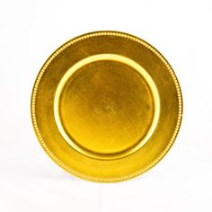 Yellow Charger Plates, 4-Pack [402079_4PK] : Wholesale Wedding Supplies, Discount Wedding Favors, Party Favors, and Bulk Event Supplies