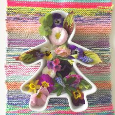 Flowers and knitting