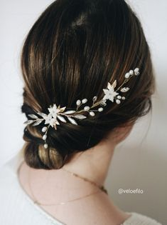 Just a prototype, but I love it some much already Crystal Wedding, Wedding Hair Accessories, Bobby Pins, Wedding Hairstyles, Band, Crystals, Beauty, Fashion, Moda