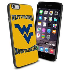 """West Virginia Mountaineers iPhone 6 4.7"""" Case Cover Protector for iPhone 6 TPU Rubber Case SHUMMA http://www.amazon.com/dp/B00T2U59WS/ref=cm_sw_r_pi_dp_pyzmvb02JGWBS"""