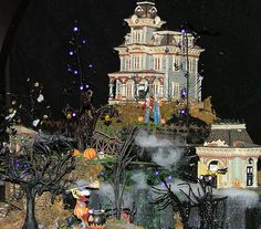 Department 56 - Halloween Village Display by Department 56, via Flickr