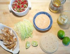 Last Saturday after a full day of working on our built-ins, I made the hubby and I fish tacos with the most amazing chipotle aioli. The prerequisite of cooking such meal is to start by drinking my favorite margaritas so we made ourselves a pitcher. I have to say that I love our family dinners …