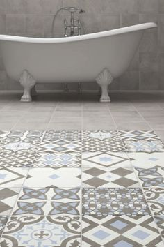 Artisan, patchwork, Spanish, Moroccan, boho, patterned - call them what you will, this style of tile is hugely popular in home decor right now.