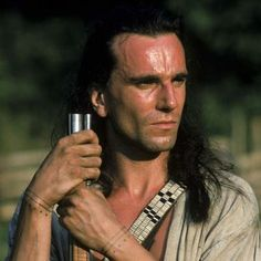 Daniel Day-Lewis. Last of the Mohicans.