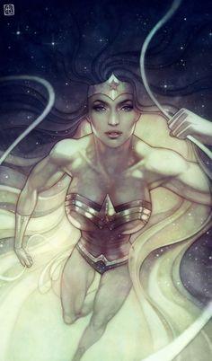Wonder Woman by Anna Dittmann *