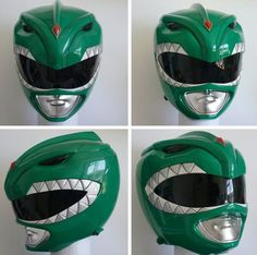 Show accurate Green Ranger helmet. Created by: matthew_wilson_335 on Instagram. If you're interested in buying a helmet similar to this, it's $450 for each individual helmet he sells. Which is almost double the price of the helmet I bought a few months back. But I guess you're paying for however well the product is, honestly. This here is supposed to be nearly identical to the helmet JDF wore. #SonGokuKakarot