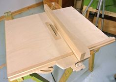 Homemade table saw fence                                                                                                                                                                                 More